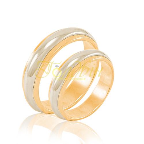 Обручальные кольца из золота КП1009 - Ювелирный интернет-магазин