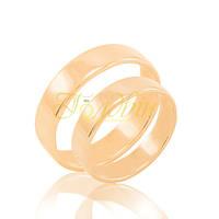Обручальные кольца из золота. КП1010