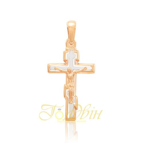 Золотой детский крестик. П03055