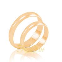 Обручальные кольца классические. КП1101