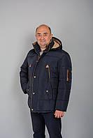Зимняя мужская куртка KZ-3 на флисе\меху