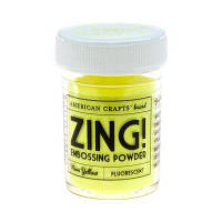 ПУДРА ДЛЯ ЭМБОССИНГА NEON YELLOW ZING! EMBOSSING POWDER