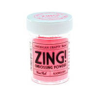 ПУДРА ДЛЯ ЭМБОССИНГА NEON RED ZING! EMBOSSING POWDER