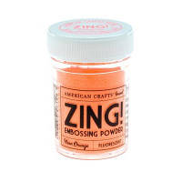 ПУДРА ДЛЯ ЭМБОССИНГА NEON ORANGE ZING! EMBOSSING POWDER