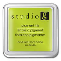 Чернильная подушечка Studio Salad green SQ