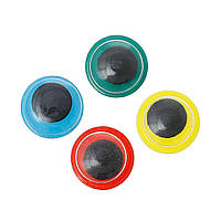 Глазки синие с бегающим зрачком, 8.0 мм, 5 пар, фото 1