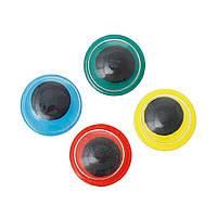 Глазки красные с бегающим зрачком, 8.0 мм, 5 пар, фото 1