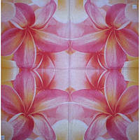 Салфетка для декупажа Цветы 2, 25х25 см