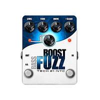 Педаль эффектов Tech 21 Boost Fuzz Bass