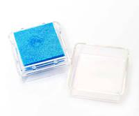 Чернильная подушка Светло-голубая, 2,5х2,5 см