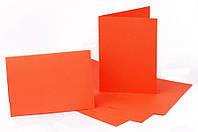 Заготовка для открытки Оранжевая, 10,3х7 см