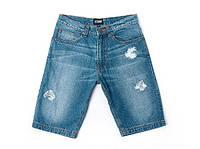 Джинсовые шорты Denim Ripped. Мужские шорты из качественного денима премиум класса. Доступная цена Код: КГ1865
