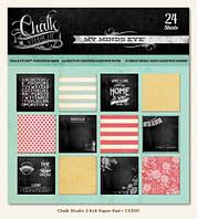Набор бумаги Chalk Studio 2, 15х15 см, 24 листов