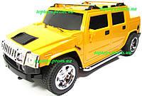 Машина на радиоуправлении Хаммер Пикап Hummer джип, длина 27см, аккумулятор, свет