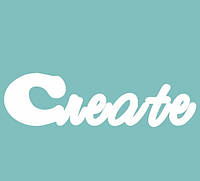 Чипборд Create, 110x40 мм