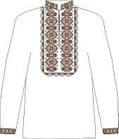 СВЮ-11. Заготовка для вишивки бісером Дитяча сорочка для хлопчика ... 900759b678694