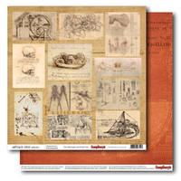 Бумага Лавка древностей, Открытия, 30х30, фото 1