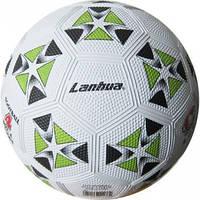 Мяч резиновый Футбольный №4 (резина, вес-370-400г, в ассортименте)