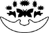 Угловой дырокол Бабочка