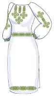 ВПЖЛ-64. Заготовка Жіноче плаття лляне сіре.