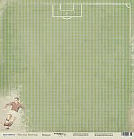 Бумага для скрапбукинга Мистер Винтаж, Пенальти, 30х30 см