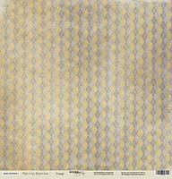 Бумага для скрапбукинга Мистер Винтаж, Гольф, 30х30 см