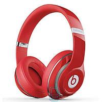 Bluetooth наушники с микрофоном MP3 FM Beats ST-409 красные
