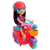 """Набор Дора (Даша) и щенок на скутере (Dora & Perrito""""s Scooter Adventure), Fisher Price Nickelodeon"""