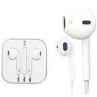 Наушники iPhone LogicFox LF - iPMV series Earphone for Apple (громкость, микрофон, комбоштекер) /Original Pac