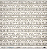 Бумага для скрапбукинга Rustic Winter, Скандинавия, 30х30 см