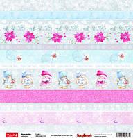 Бумага Zaika Mi Xmas Berries, Cards 1, 30х30 см