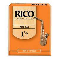Трости Rico RJA1015 Alto Sax #1.5 (10 шт.)