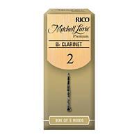 Трости Rico RMLP5BCL200 Mitchell Lurie Premium Bb Clarinet #2.0 (5 шт.)