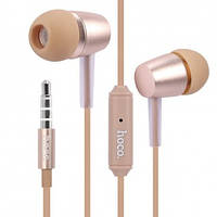 Наушники Hoco M10 Metal Universal with miс Gold