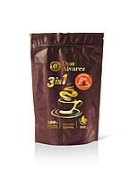 Don Alvarez кофе Колумбия 3в1 Карамель 200 г