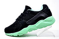 Кроссовки женские Nike Air Huarache, Чёрный\бирюза