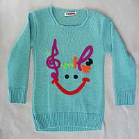 Детский свитер для девочек 3-5 лет Турция