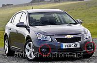 Противотуманные фары Chevrolet Cruze c 2009- / Производитель DLAA