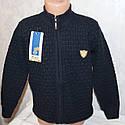 Кофта на мальчика  вязанная 5-6,7-8,9-10 лет, фото 3