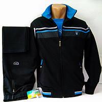 Мужской спортивный трикотажный костюм, производство Турция, темно-синий.