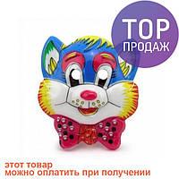 Маска Детская Кот Леопольд / детские карнавальные маски