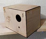 Гнездо для волнистого попугая, 24х17х17,5