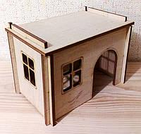 Домик для крысы, 14х9х10 см