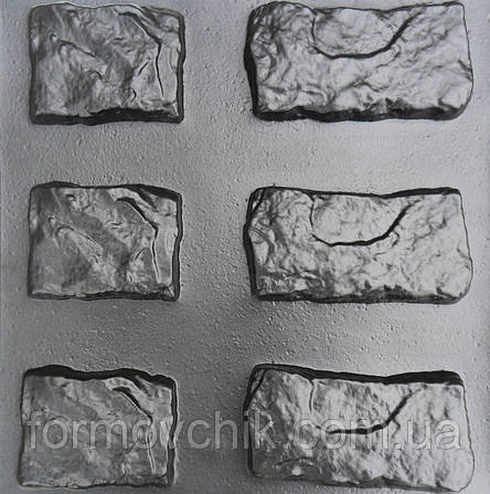 """Комплект форм для искусственного камня """"Старый замок"""", фото 2"""