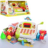 """Детский кассовый аппарат """"Shopping Set"""", с микрофоном, сканером, корзинкой LF996D"""