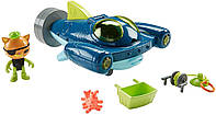 Игровой набор Октонавты подводный проводник (Gup-Q Undersea Explorer), Octonauts, Fisher-Price