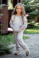 Спортивный костюм ODWEEK FLOWER 170823 Серый 116
