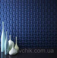 "Форма для 3Д панели из гипса или бетона ""ПЛЕТЕНКА"", фото 2"