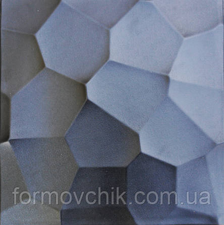 "Форма из АБС пластика для гипсовой плитки ""Шелл"", фото 2"
