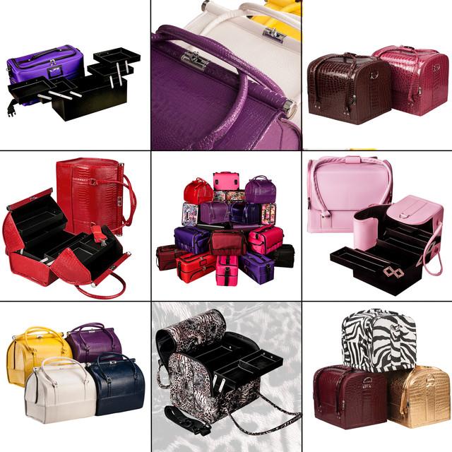 Профессиональные саквояжи, кейсы, чемоданы для мастеров индустрии красоты